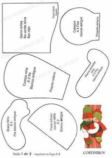 FELTROMARA: ENFEITE DE NATAL CREDITOS NAS FOTOS Decor Crafts, Crafts To Make, Christmas Crafts, Christmas Decorations, Christmas Ornaments, Felt Patterns, Sewing Patterns Free, Disney Christmas, Christmas Holidays