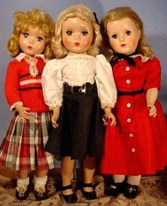 """Looks like Annabel to me - she has the maggie face. ~ Teenage """"Maggie"""" Dolls ~ (1950's)"""