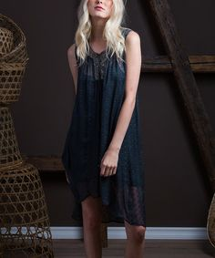 Another great find on #zulily! Stone Embellished Shift Dress #zulilyfinds