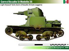 Carro d'Assalto 5t Modello 36