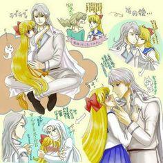 Sailor Venus and Kunzite