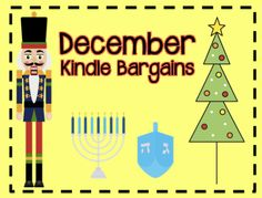 December kindle bargains - some books are free for a short time. Christmas Activities, Activities For Kids, Christmas And New Year, Xmas, A Classroom, Bookcases, Second Grade, Classroom Management, Teacher Stuff