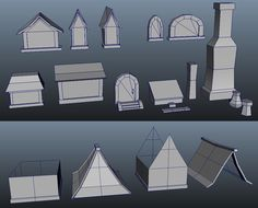 WoW Style Modular Building (Parts)