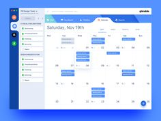 Glendale - Calendar designed by Gabriel Lam. Connect with them on Dribbble; Dashboard Ui, Dashboard Design, Ui Ux Design, Interface Design, Ui Design Mobile, Flat Design, User Interface, Web And App Design, Design Websites