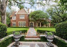 4300 Bordeaux Ave, Dallas, TX 75205 | MLS #13377127 | 4,894 sf | 3 bed | 3 full 1 half bath | historic Tudor built by Hal Thomson built 1936 | 1/2-acre | $4,599,000.