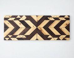 Arte de pared de madera Belo por RusticWarmthDecor en Etsy