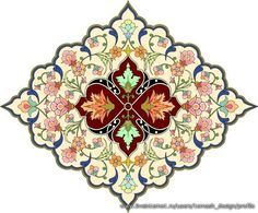 Clipart of Orange, green, blue and red floral Arabesque Design - Search Clip Art, Illustration Murals, Drawings and Vector EPS Graphics Images - Islamic Art Pattern, Arabic Pattern, Pattern Art, Pattern Design, Arabesque Design, Motif Arabesque, Persian Pattern, Persian Motifs, Motif Oriental
