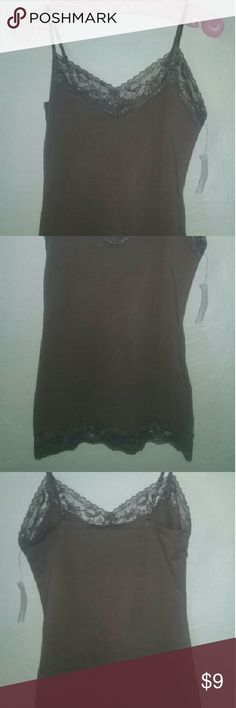?? NWT Charlotte Russe lace tank! Has adjustable straps. Perfect condition. True to size. Charlotte Russe Tops Tank Tops
