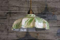 Campbell Fern Ceramic Pendant Light