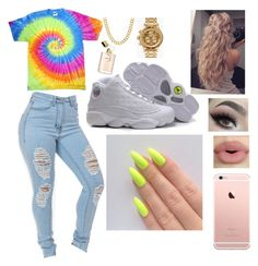 """""""ColorFul"""" by kekecardoza ❤ liked on Polyvore featuring Coach, Sephora Collection, Nixon, women's clothing, women's fashion, women, female, woman, misses and juniors"""