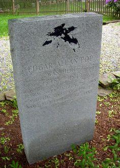 Westford Poe Marker | Atlas Obscura