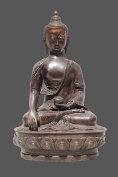 Shakyamuni Buddha Figur aus Bronze