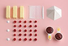 Ikea Recipe cookbook! Love the color combinations here!