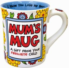 Treasures By Brenda: 31 DAYS OF COFFEE MUGS: Mugs For Mom