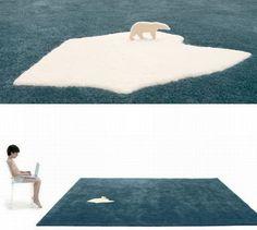 Arktyka na dywanie od Nel