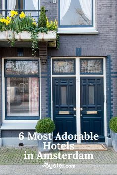 Allow us to nominate Amsterdam as the European capital of adorableness. Picture the canals, the arching bridges, the bicycling locals, and the tulip stands. Now add in those cute-as-all-get-out gabled houses with ornamental facades that are so precious their likeness is stamped on cookies. All together, it's an overload of adorable. Take a look at these list of six properties below, and try to stop yourself from squealing in delight.