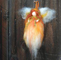 Needle Felted Autumn Fairy- Waldorf Inspired by Nushkie Design, via Flickr