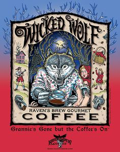 Wicked Wolf Poster