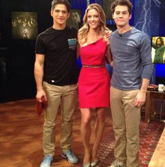 Teen Wolf Wolf Watch with Tyler Posey, JIll Wagner, Dylan O'Brien