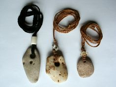 Naturally-holed stones (called mare stones, hag stones, witch stones, or holey stones) are worn to protect from nightmares, the Mara, to ble...