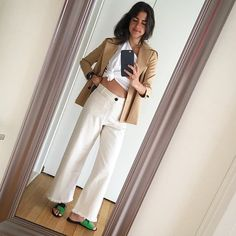 Pin for Later: The Style Bloggers You Should Be Following — Based on Your Favorite Sex and the City Character Leandra Medine