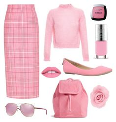"""Pink"" by theglitterykitten on Polyvore featuring Filles à papa, Miu Miu, Call it SPRING, Vera Bradley, Michael Kors, The Body Shop and L'Oréal Paris"