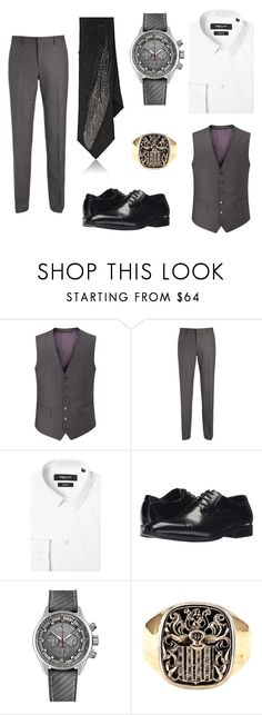 """Thomas Valerius geb. Riddle"" by jade-rose-872 ❤ liked on Polyvore featuring Skopes, Joseph, Kenneth Cole, Stacy Adams, Zenith, title of work, men's fashion and menswear"