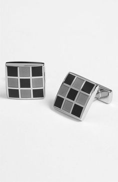 Thomas Pink Enameled Square Cuff Links available at Nordstrom