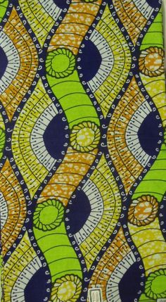 African Print Fabric (sold by the yard). £4.00, via Etsy.