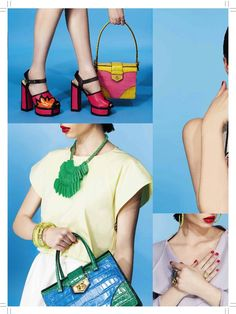 ES Magazine Colour Block Story, styled by Sophie Paxton