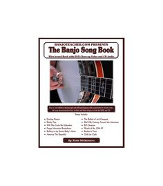 Learn Dueling Banjos, Beverly Hillbillys Theme and other favorite bluegrass banjo songs from Ross Nickerson with easy to read and use Book, CD and DVD.