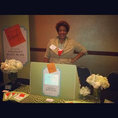 My first event as a published author: Tory Johnson's Spark & Hustle in ATL. Creative branding, design and floral styling by Lucky & Lovely.