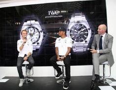 7582a0cbaa0 IWC lança relógios em homenagem a Lewis Hamilton e Nico Rosberg