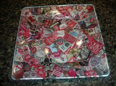 Ohio State Buckeye Plate by threesistersplates on Etsy, $35.00