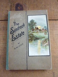 Vintage Edwardian Novel Pictorial Cover by BonniesVintageAttic, $18.50