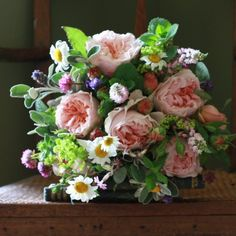 The Real Flower Company English Evelyn Bouquet  http://www.realflowers.co.uk/bouquet-collection/thank-you-flowers/the-real-flower-company-english-evelyn-bouquet.html