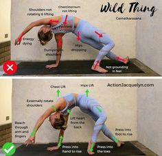 - New picture😭😭😭😭😭👋😭😭 - -Sport Tank - Yoga Mind & Body cardioyoga Yoga Wild Thing Pose - Good vs Bad yo . Cardio Yoga, Power Yoga Workout, Ashtanga Yoga, Yoga Bewegungen, Yoga Moves, Yoga Exercises, Yoga Flow, Stretches, Yoga Inversions