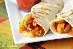 Chicken Fajita Wraps | Life as a Lofthouse