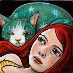 """Nightcat"" par Kelly Vivanco"