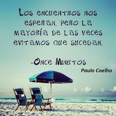Las palabras del silencio: Once minutos, Pablo Coelho, fragmentos
