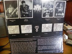 MYSTIFIER-WICCA (1ST LP ON HEAVY METAL MANIAC RECORDS BEFORE THEY JOINED OSMOSE) WITH INSERT AND BAND PHOTOS, PRESS RELEASE AND HANDWRITTEN LETTER FROM OSMOSE-