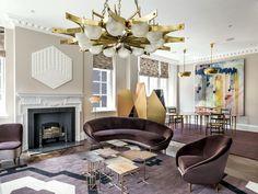 #Deco Lujo contemporáneo. Es lo que se percibe al entrar en este apartamento, en el que todos los detalles han sido cuidadosamente elegidos para que guarden una armonía perfecta entre sí