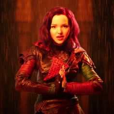 "News from Disney Channel about Dove Cameron performing in a Descendants-themed music video!! So great! Get ready to watch this new music video for ""Genie in"