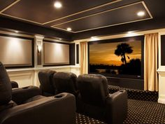 Amazing Home Theater Designs From CEDIA 2012 Finalists
