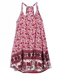 Bluetime Womens Vintage Sleeveless Slip Dress with Spaghetti Straps * Details can be found by clicking on the image.