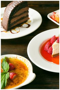 Chocolate Zuccotto Cake Creme Brulee New York Style Cheesecake Gigis Butter More