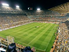 Go to a football game abroad -- Valencia CF