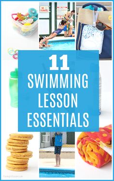 11 Child Swimming Lesson Essentials - Must-Have List for Parents! Raising Whasians via AD Swimming Lessons For Kids, Swimming Classes, Swim Lessons, Camping Essentials List, Kid Essentials, Camping Checklist, Camping Tips, Swim Camp, Learn To Swim