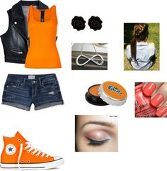 """""""spirt week MONDAY CLASS COLORS"""" by ejbecker ❤ liked on Polyvore"""
