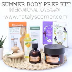 Sorteo Internacional! Summer Body Prep Kit - Nataly's Corner